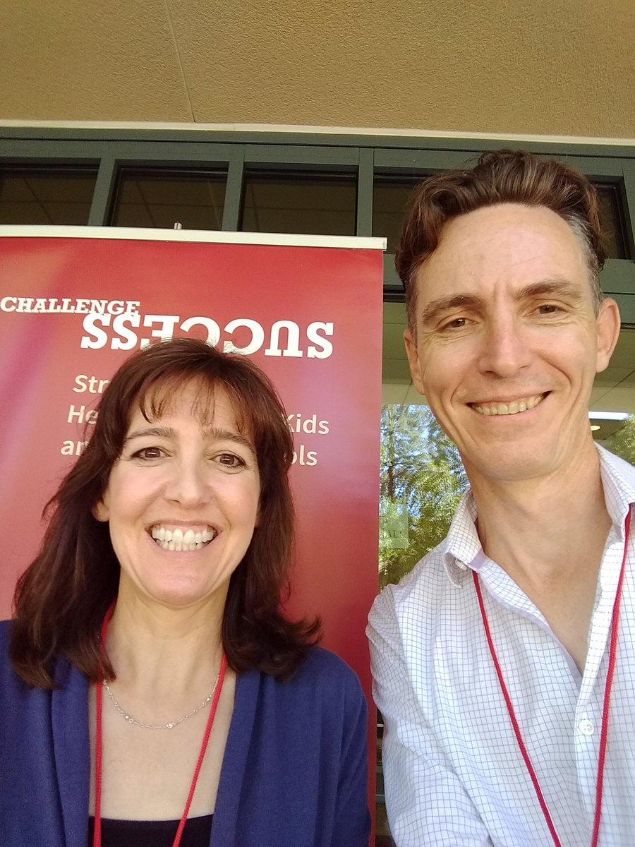 CTTL's Head of Research presents with Stanford University  Dr. Denise Pope at Challenge Success convening