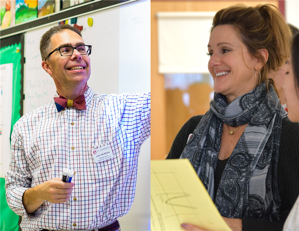 Two SAES teachers to present at researchED conference in Philadelphia