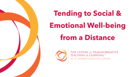 Tending to Social & Emotional Well-being from a Distance