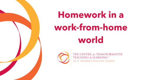 Homework in a work-from-home world