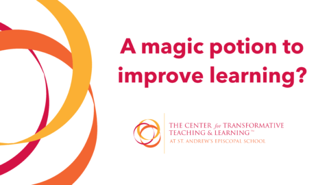 A magic potion to improve learning?