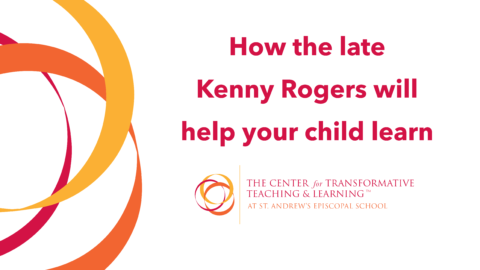 How the late Kenny Rogers will help your child learn