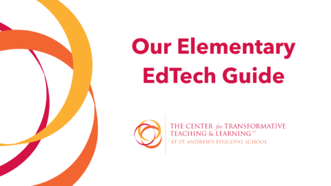 Our Elementary EdTech Guide is Here